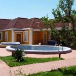 Swimming-pool of house for rent at Hotel Grand Mir Area in Tashkent