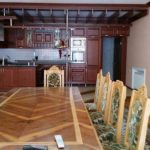 Kitchen of house for rent at Hotel Grand Mir Area in Tashkent