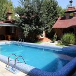 Swimming-pool of house for sale at Darhan district in Tashkent