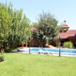 Simming-pool of house for sale at Darhan district in Tashkent