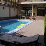 Swimming-pool of house for rent at Mirzo-Ulugbek district in Tashkent
