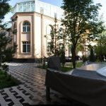 View from outside of house for rent at hotel grand mir area in Tashkent