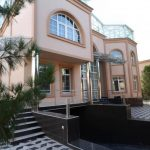 Front view of house for rent at hotel grand mir area in Tashkent