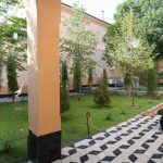 Garden of house at hotel grand mir area for rent in tashkent